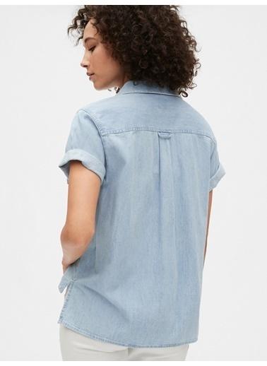 Gap Jean Gömlek Mavi